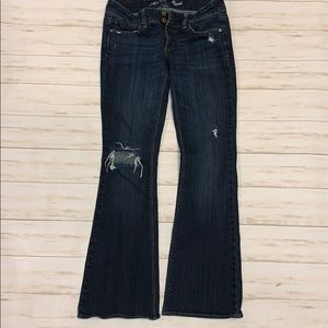"""American Eagle Stretch """"Artist"""" Jeans Size 6"""